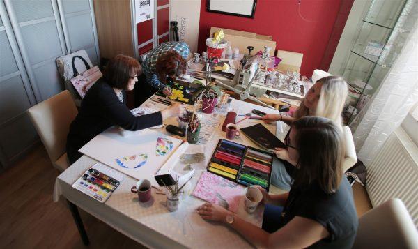 Unterrichtsraum der Kunstschule Bünde