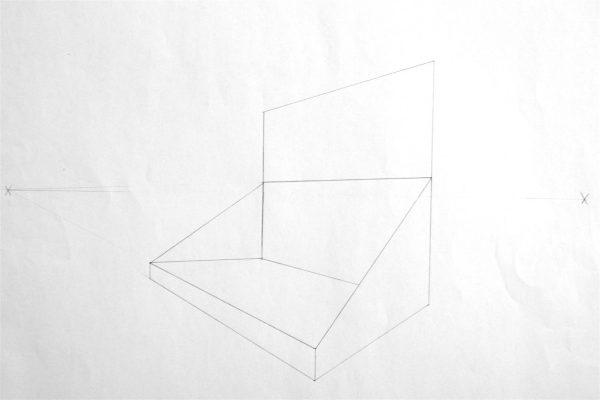 Tischaufsteller richtig Zeichnen