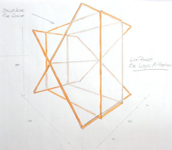 Geometrische Formen in 3 D zeichnen