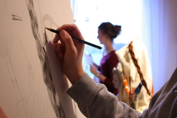 Mappenvorbereitung Kunstschule Bünde