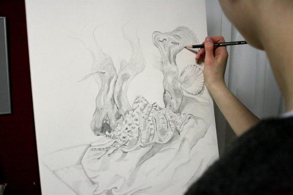 Mappen für das Kunststudium
