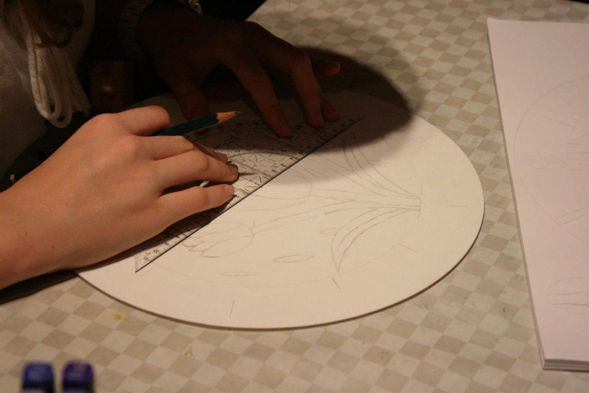 Kunstschule_buende_Uhrenprojekt_Vorskizze_Jana