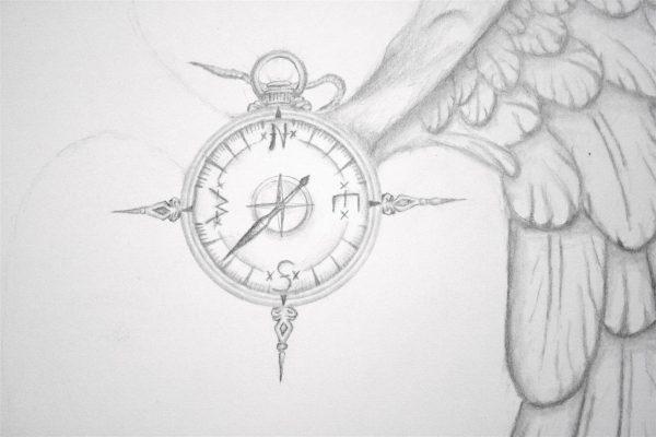Antiker Kompass