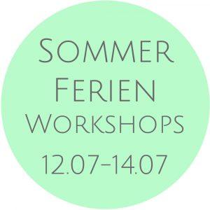 Sommerferienworkshops 2021 Kunstschule Bünde