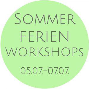 Sommerferienworkshops in der Kunstschule Bünde